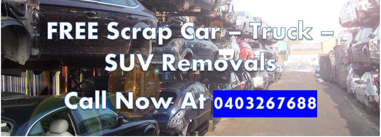 Free Scrap Car Removal Service in Sydney 7 days week