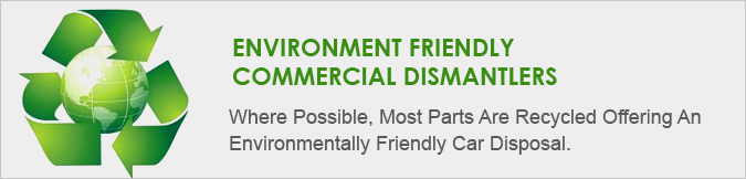 environments friendly cash for cars programe
